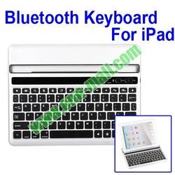 Beautiful Silver Portable Drawer Style bluetooth keyboard for ipad2/the New iPad/iPad 4