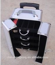 HX-L2451,Aluminum tool case,heavy duty aluminum means cabinet trolley