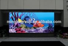 P6 led light display advertising board