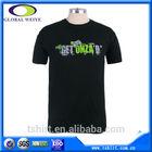 Custom rubber printing men cotton 1.00 t shirt