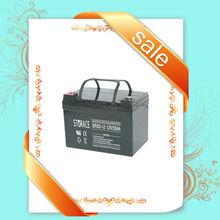 Solar rechargeable vrla batteries