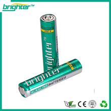 High power 1.5v aaa lr03 am4 1.5v alkaline battery aa for led lights