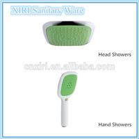 Green ABS plastic shampoo shower head M5120