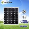 High quality 12v 40w monocrystal solar panel