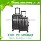 2014 trendy travel house luggage set