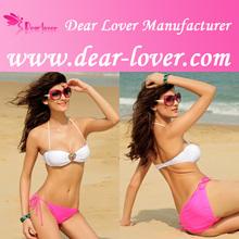 wholesale young lady Bandeau Bikini factory dog clothing