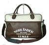 2014 large capacity custom leather duffel travel bag