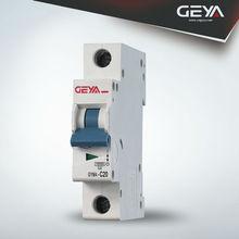 GEYA GYM4(new type) mini circuit breaker,mitsubishi nf circuit breaker