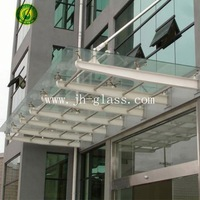 2014 hot sale tempered glass shower wall panels