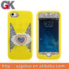 heat protection silicone cover for iphone bulk case
