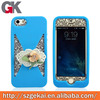 silicone waterproof case for iphone 4 2014 new