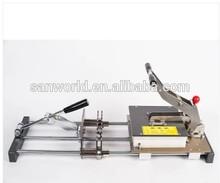 manual type meat skewer machine / meat wearing machine