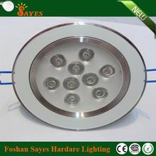 aluminum art deco led ceiling light fixture