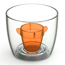Bomber Cups Orange 3.8oz / 108ml Ideal for serving jagerbombs, skittle bombs and tick tacks