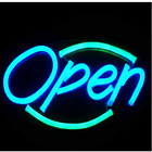 hot and new ! LED led hair salon open sign