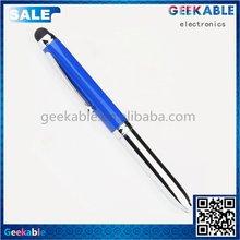 Economic stylish small short 3in 1 stylus pen