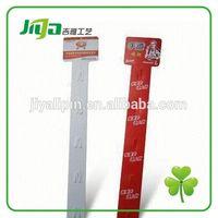 Customized plastic shelf price strip for display in China