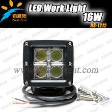Factory cheap 16W LED OFFROAD WORK LIGHT,Spot LED WORK LIGHT LAMP 12V24V ATV J EEP Truck SUV 4WD,4X4 C REE LEDS Fog Lamp Kit