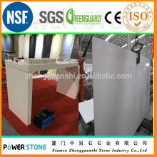 White Quartz Reception Desk Table Whole Quartz Stone