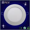 High quality AC85-265V 120 degree round led panel light 11w