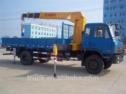 7000KG Telescope truck crane Truck mounted crane manufacturer