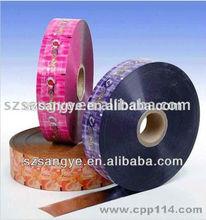 custom printing food grade material film roll plastic automatic packaging film / laminated packaging film