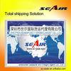 sea freight rates from Guangzhou/Shenzhen to worldwide