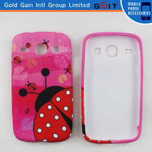 Ladybird Is Climbing Back Cover Case For Samsung I8262 With TPU Material