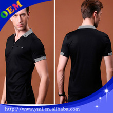 wholesale cheap dri fit mens polo striped collar sport t shirts with collars
