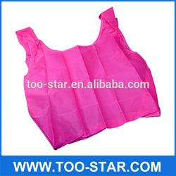 2014 wholesale cheap foldable nylon shopping bag
