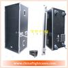 Portable speaker flight case,Speaker Flight Case For Holding Two Speakers With Wheels