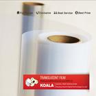 Inkjet (100 um) PET Nanotechnology-based Super Transparent Waterproof Film, plastic film for inkjet printing