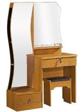 Esquina dormitorio tocador con espejo de pie y silla 612#
