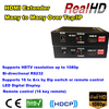 China factory price Many to many 16 key remote hdmi over lan extender
