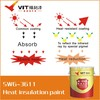 VIT metal roof heat proof paint weatherable heat insulation
