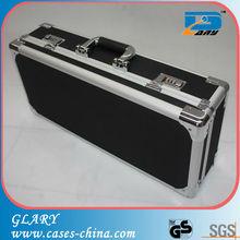 Ultrathin abs aluminum frame padded gun case