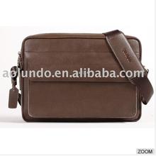 Best selling genuine leather men one strap shoulder bag