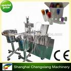 LOW PRICE Automatic small bottle liquid filling machine, liquid filling line