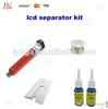 LOCA Liquid Optical clear Adhesive UV glue+20g glue debaonder +blade for repair touche screen,lcd separator kit,cutting wire