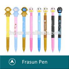 New supply cheap plastic multi style cartoon shape children cute pen,cheap cute pens,cute ballpoint pen