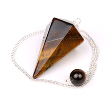 Top Fashional Yellow Tiger Eye Crystal Gift for Antique Lover / Promotional Energy Pendulum in Bulk Wholesale