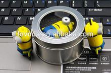 bulk order cheap price Kids gift Minions cartoon figure usb flash drives on sale