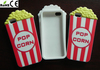 3d custom make phone case popcorn Silicone Phone Case for iphone 5