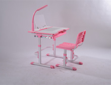 Kids table A90T / children study desk and chair sets with a drawer