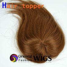 Qingdao 100% human virgin hair blonde hair closure piece toupee for women