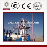 100% environmental friendly and popular waste plastic to diesel oil pyrolysis machine/waste plastic to diesel in machinery
