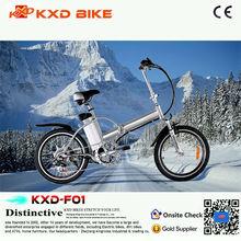 20inch al alloy frame electric folding bike for sales (KXD-F01)