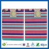 C&T Fashion portfolio colorful pouch tan leather wallet case for ipad mini