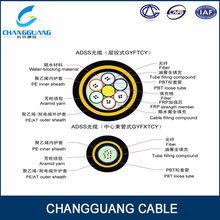 Aerial duct underground cable fibra optica monomodo g.655 g.657 g.652 outdoor fiber optic cable