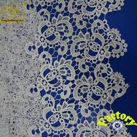 (YJC30072)Factory offer wholesale bulk african flower crochet lace fabric